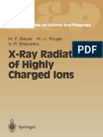 Beyer H.F., Kluge H.J., Shevelko v.P. (Eds.) - X-Ray Radiation of Highly Charged Ions - 1997