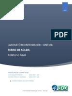 Relatorio Final - Ferro de Solda - 22B