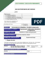 Estadistica II 2012