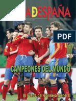 Carta de España Julio- Agosto 2010