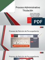 Proceso Examen de Titulo (via Sagaf)