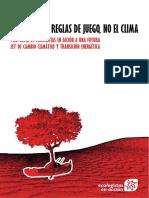 Cambiar Las Reglas Del Juego, No El Clima - Propuesta de Ecologistas en Acción a Una Futura Ley de Cambio Climatico... - Diciembre, 2017