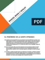 Manuel Mora y Araujo El Concepto de Opinión Pública