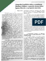 GROSSI, Diego - Dilemas Da Historiografia Brasileira Sobre a Luta Armada Contra a Ditadura Militar