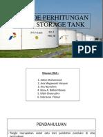 Storage Tank Kel 1