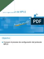 Configuración de MPLS