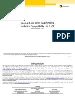 04 - Symantec Backup Exec - HCL