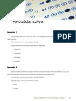 Ceja Biologia Unidade 1 Exercicios