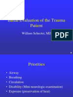 Lecture 2 Initial Evaluation of the Trauma Patient