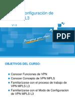 Principio y Configuracion MPLSL3VPN