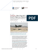 Blue Flag 2017_ Israel's Fighter-jet Diplomacy - Israel News - Haaretz