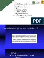 Cuerpos de Lewy Diapositivas