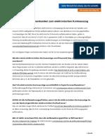 Infoblatt Zum Elektronischen Kontoauszug