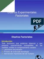 Diseños Experimentales Factoriales