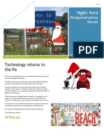 Rongomaraeroa Marae Newsletter Issue 2