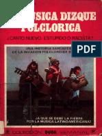 Arana, Federico - La Música Dizque Folclórica