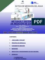 5.1.1 Métodos y Sistemas de Medición de Gasto