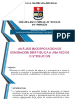 PROYECTO INCORPORACION DE GENERACION DISTRIBUIDA EN SISTEMA DE DISTRIBICION.pptx