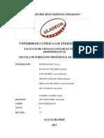 Caracterización Del Financiamiento y Rentabilidad de Las MYPE