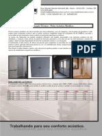 Amplitude Acustica Especificações Tecnicas Porta Metálica