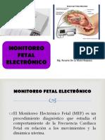 INTRODUCCIÓN MONITOREO FETAL ELECTRÓNICO 2017 (1).ppt