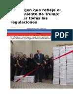 La Imagen Que Refleja El Pensamiento de Trump