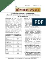 Ficha Tecnica - Fitohumico 75 p.s