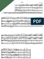 Mark Althans - Aria and Tarantella for String Quartet