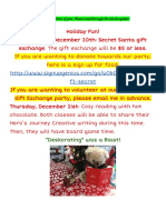 friday updates december 15th