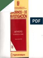 Anthropos - García Olvera