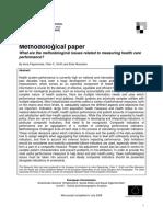 Methodological Paper 2008_health Care Performance 28-07-2008_FINAL