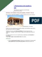Sistema Con Estructura de Madera