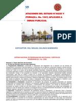Curso Ley de Contrataciones 30225- Chaska Trujillo -Cip