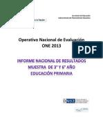 INFORME-DE-RESULTADOS-PRIMARIA-ONE-2013.pdf