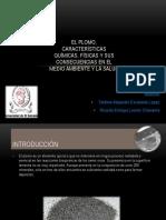 El Plomo Características Químicas y Físicas