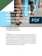 Prostitución en Chetumal y La Tecnología