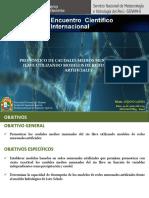 124328103 Pronostico de Caudales Medios Mensuales Del Rio Ilave Utilizando Modelos de Redes Neuronales Artificiales