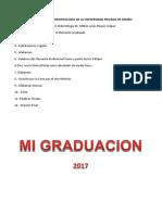 Graduación de Odontología de La Universidad Privada de Oruro