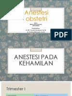 Anestesi Obstetri