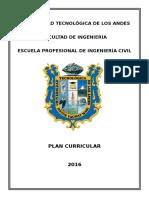 Diseño Curricular de La E.P. de Ing. Civil 2016