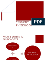 Synthetic Physiology
