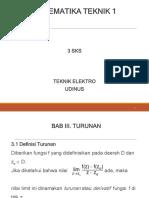 3-TURUNAN