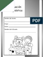 2do Grado - Evaluación Diagnóstica (2014-2015)