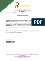 Carta Laboral Mym Soluciones Especializadas