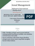 Kelompok 05 Ethical Challenges of International Management