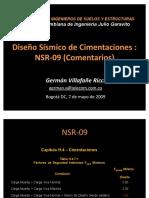 05 Diseno Sismico de Cimientos NSR 09 GermanVillafane