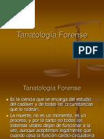 Tanatología Forense -