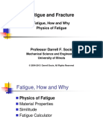 Fatigue How and Why
