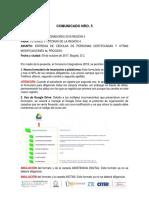 Comunicado Nro5