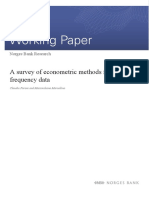 Norges Bank Working Paper 2013 06